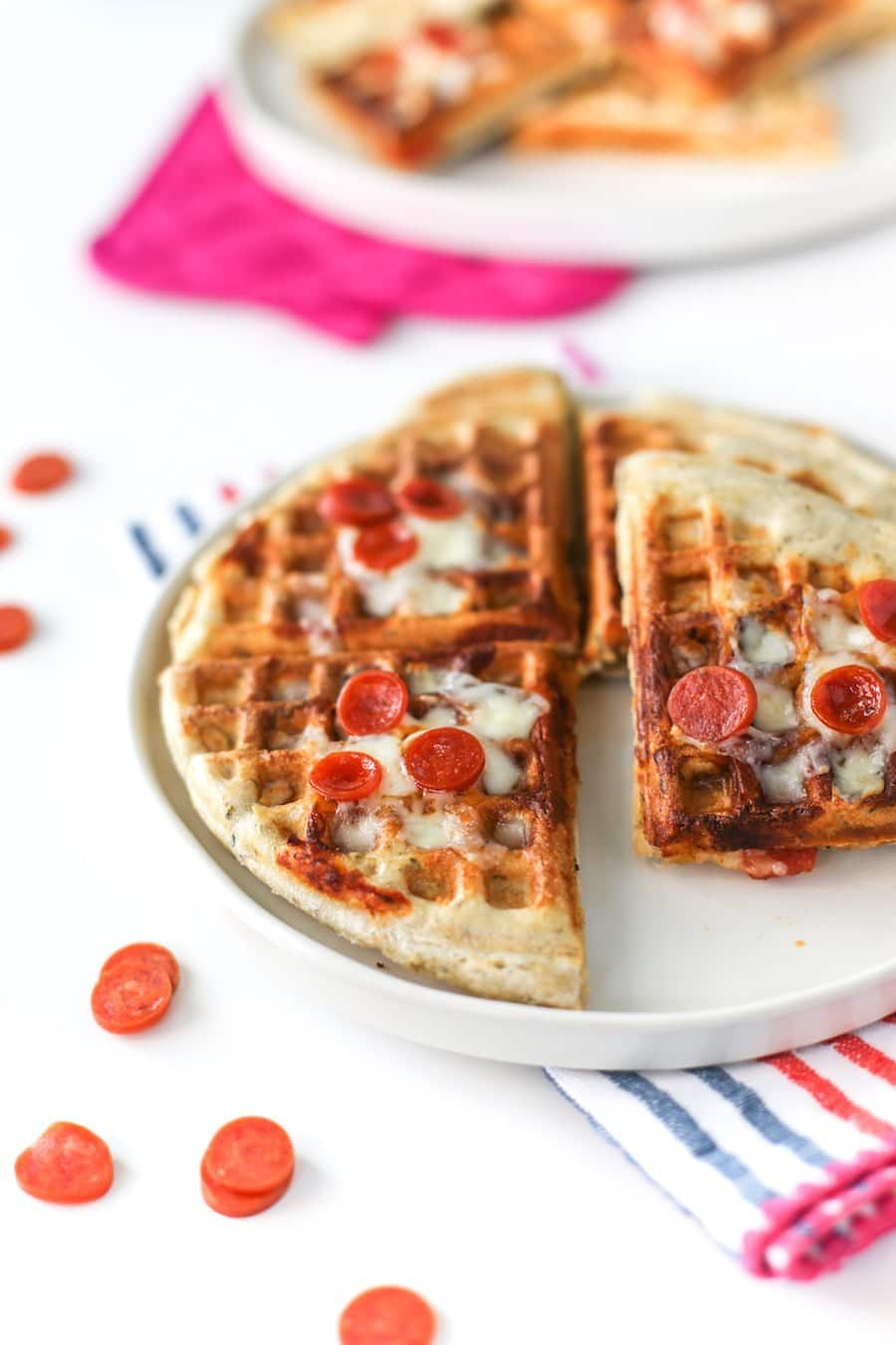 Pizza Waffles // Salty Canary