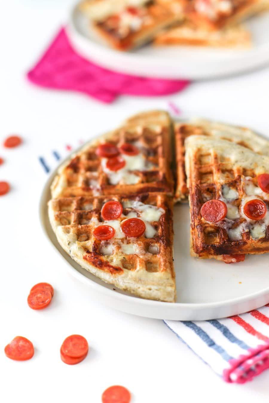 Pizza Waffles // Salty Canary
