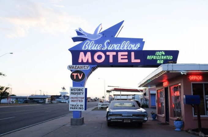 The Best Vintage Signs along Route 66 // Salty Canary