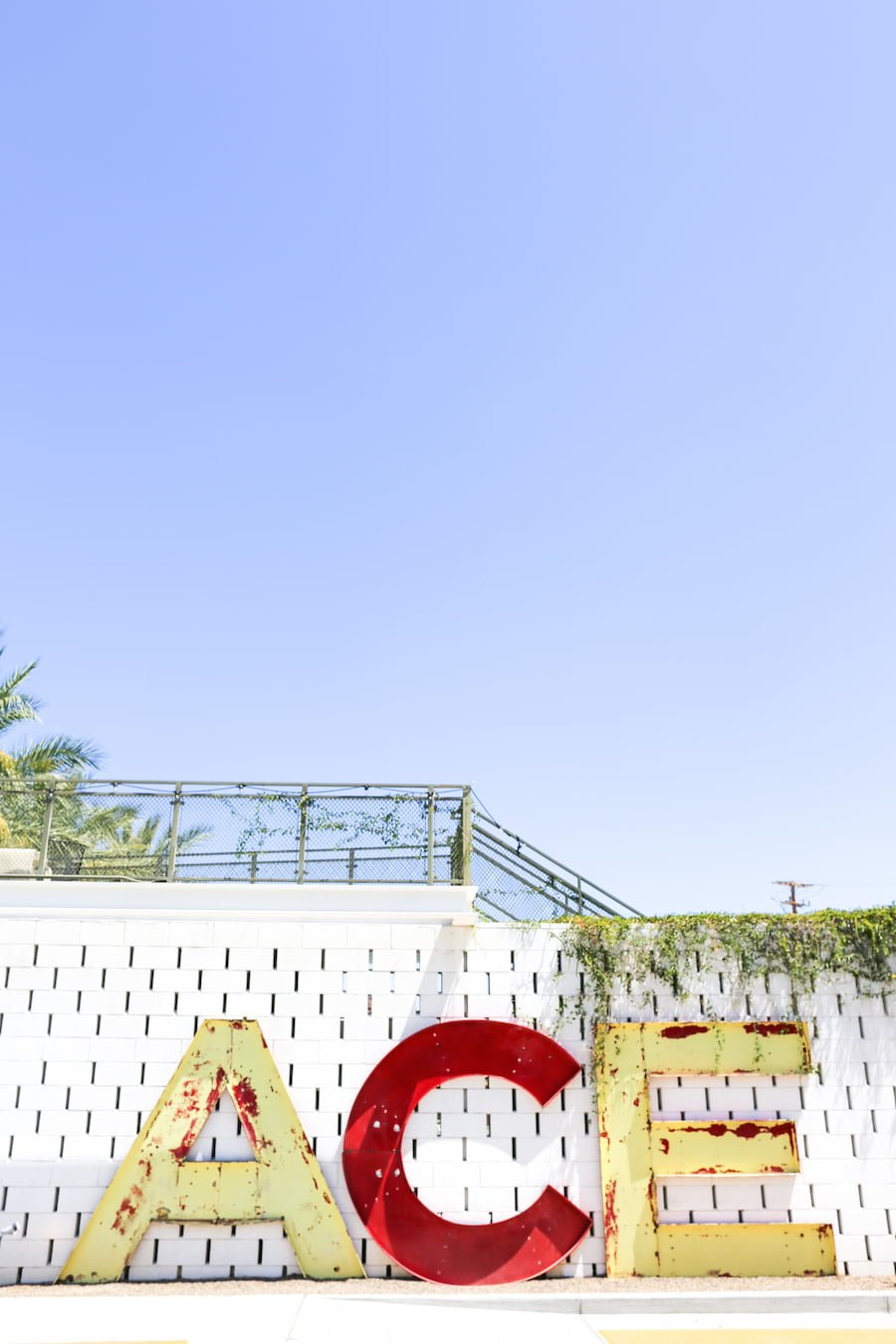 Ace Hotel in Palm Springs // Salty Canary