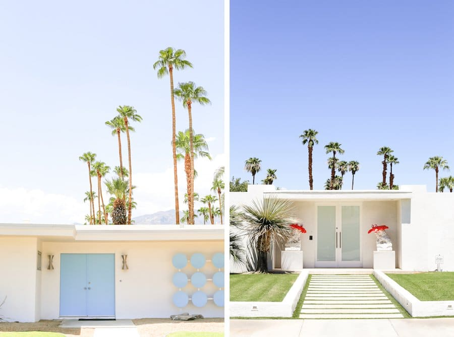 Ultimate Travel Guide to Palm Springs, Vacation and Trip Ideas, Palm Springs California, City Guide, Where to Stay in Palm Springs, What to Do, See and Eat in Palm Springs, Weekend Guide, That Pink Door, Midcentury Architecture, Instagram Spots, Neighborhood Tour, Midcentury Doors, Door Tour, Party Lions