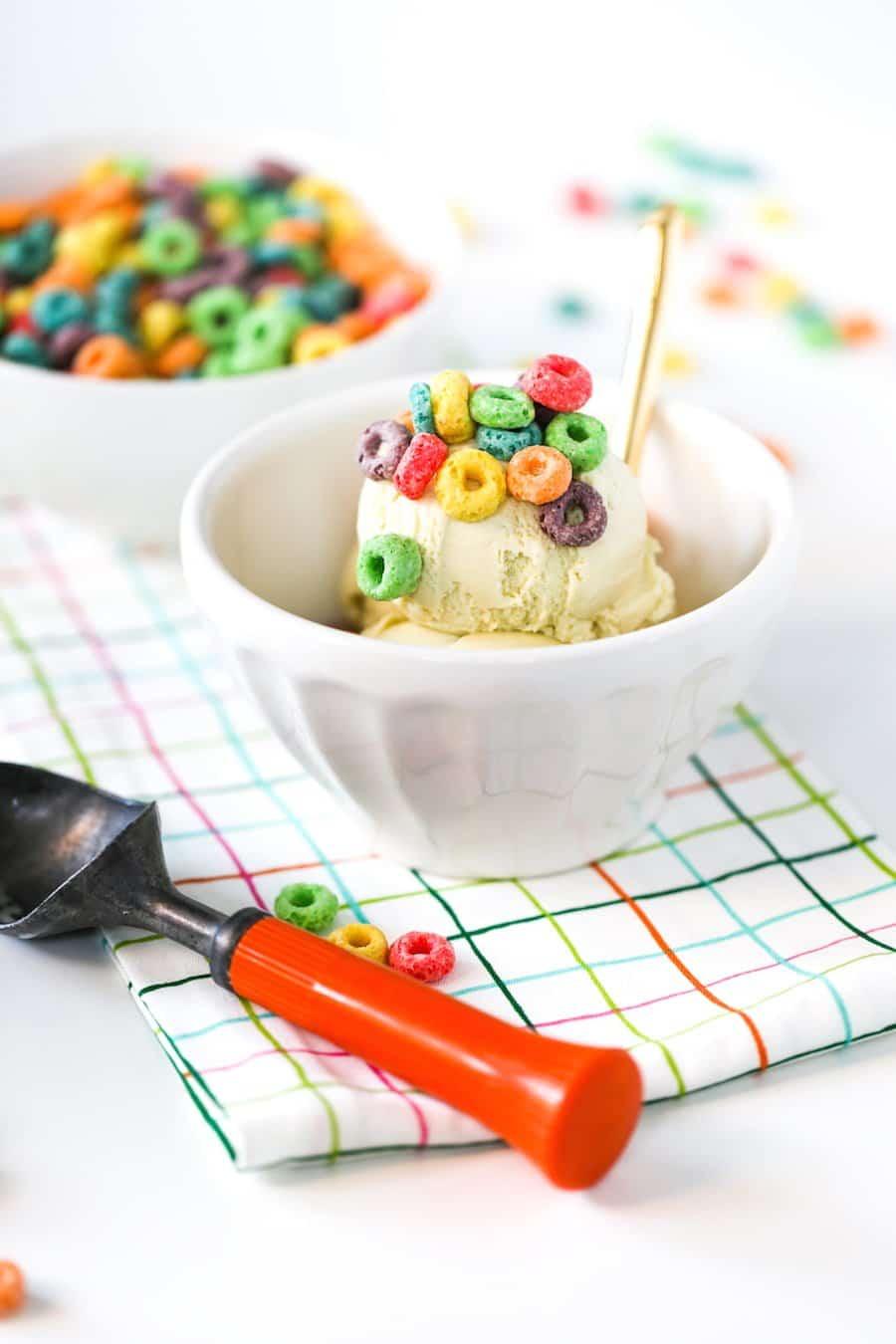 Cereal Milk Ice Cream   Salty Canary