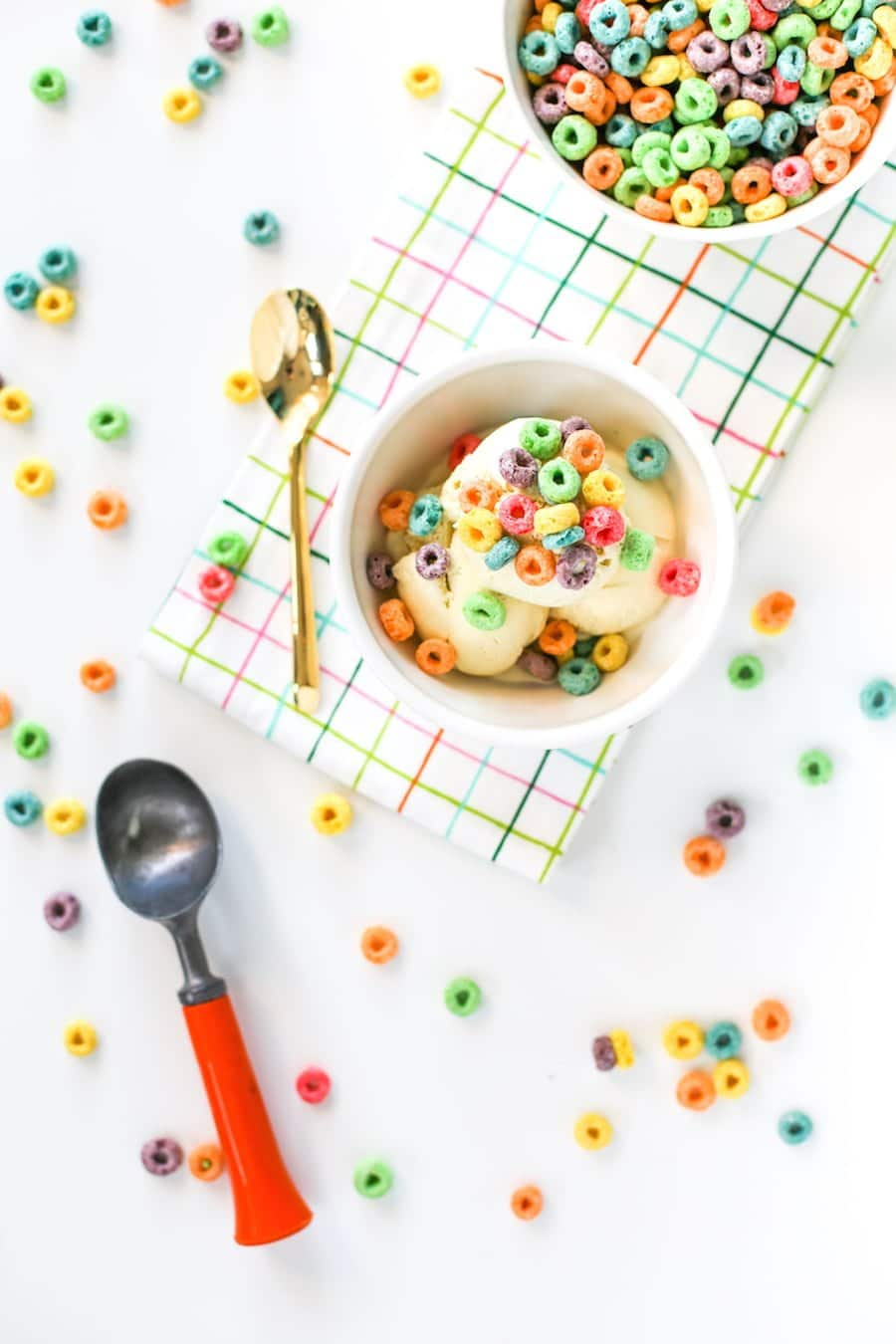 Cereal Milk Ice Cream | Salty Canary