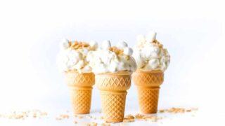 Rice Krispies Treats Ice Cream // Salty Canary