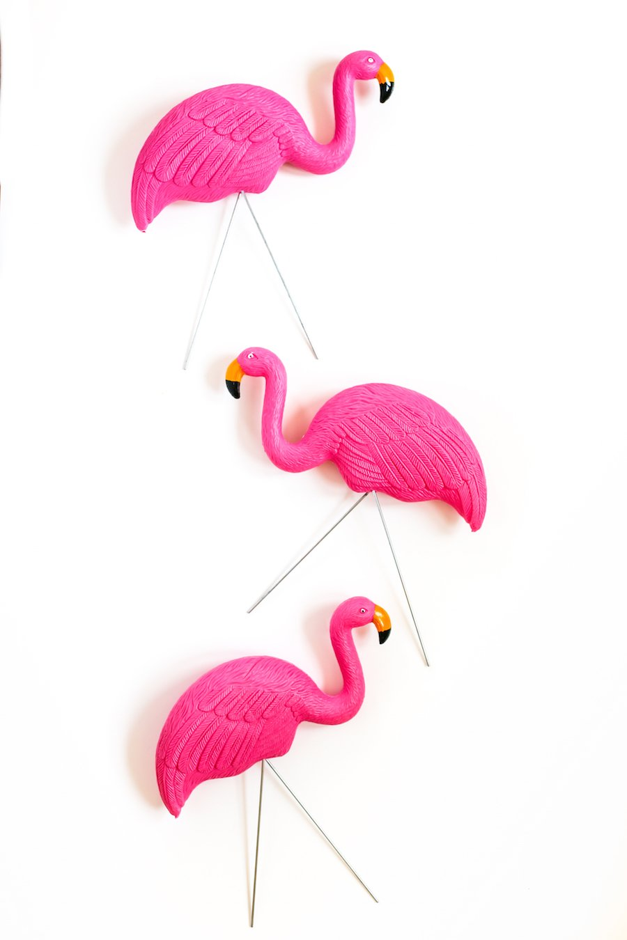 Happy Flocking Birthday with a Flamingo Flocking // Salty Canary