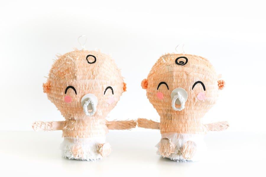 Twin Baby Shower Fiesta // Salty Canary