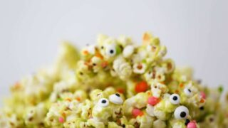 Halloween Monster Popcorn // Salty Canary