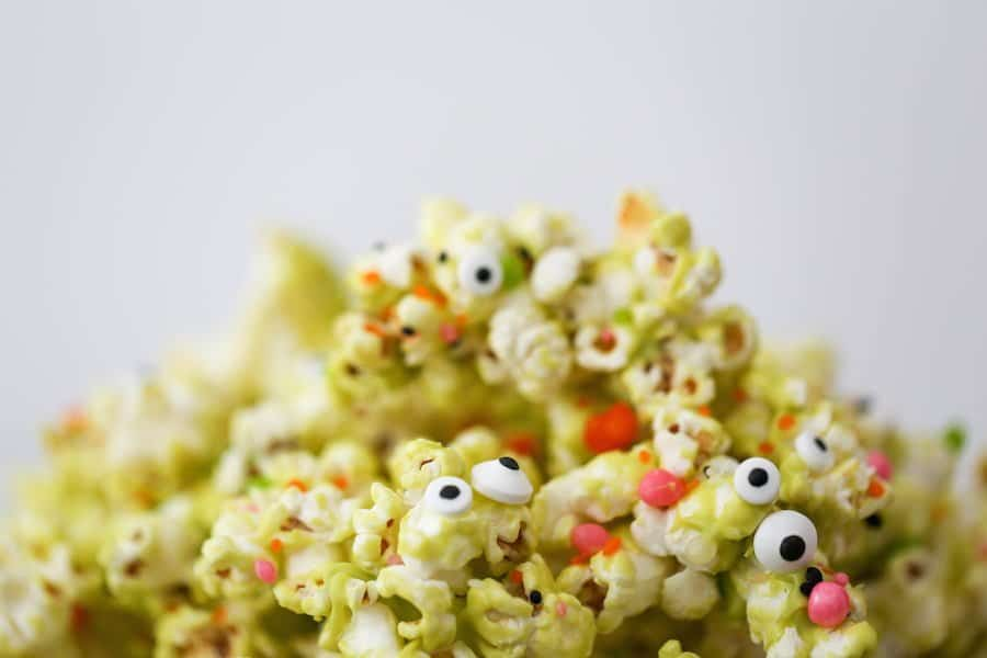 Halloween Monster Popcorn // Salty Canary