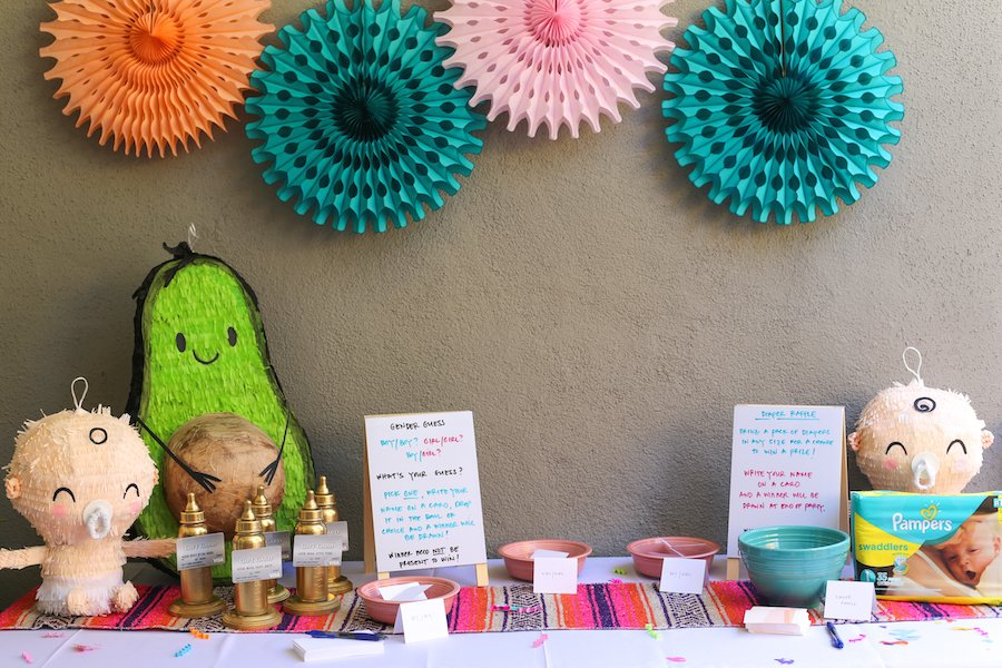 Twin Baby Shower Fiesta // Salty Canary