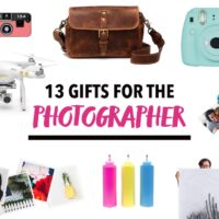 13 Gifts for the Photographer Gift Guide