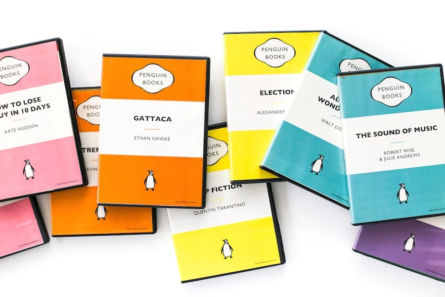 Create Your Own Penguin Book Cover : Diy penguin book dvd covers free downloads