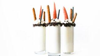 Melted Snowman Milkshake // Salty Canary