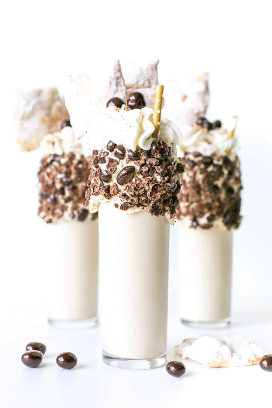 Mardi Gras Milkshakes // Salty Canary