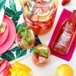 Strawberry Basil Lemonade Sangria