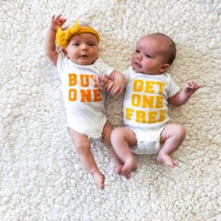 The Salty Twins: One Month Old // Salty Canary
