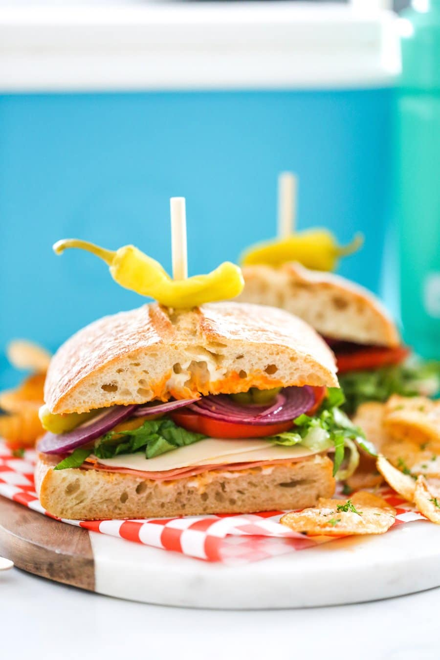 Perfect Picnic Italian Sandwiches // Salty Canary