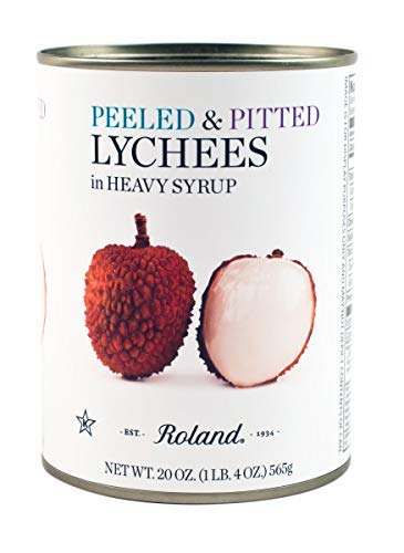 Roland Whole Lychees in Heavy Syrup