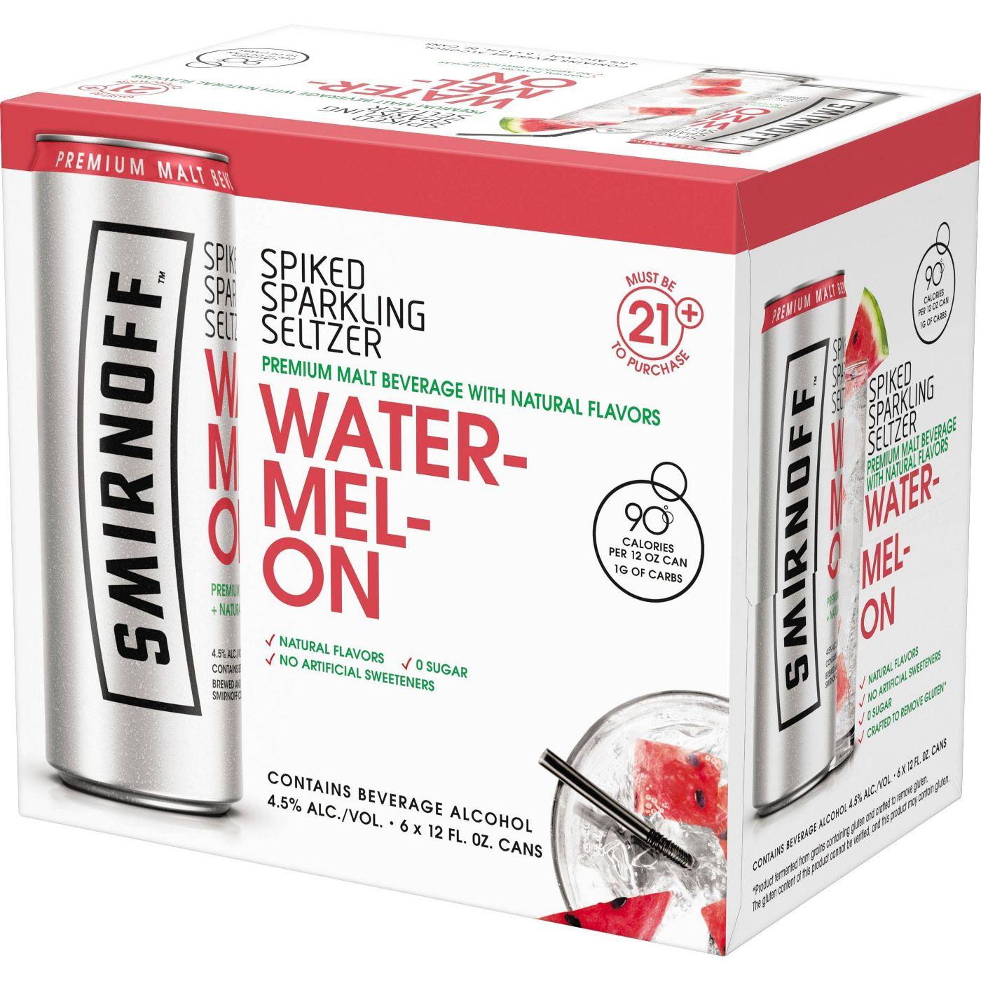 Smirnoff Watermelon Spiked Seltzer