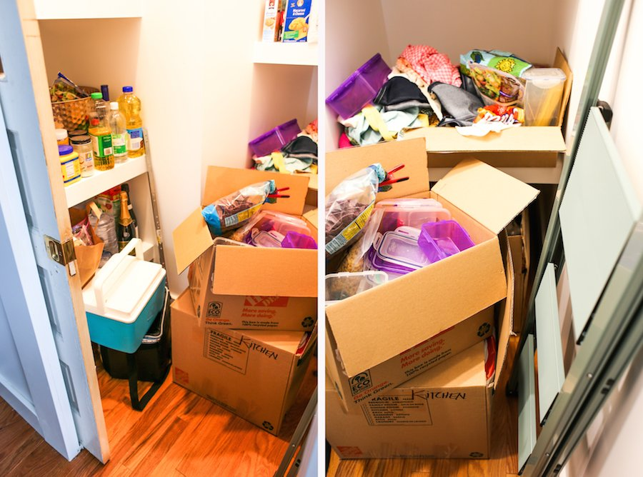 Dream Pantry Purge and Planning // Salty Canary