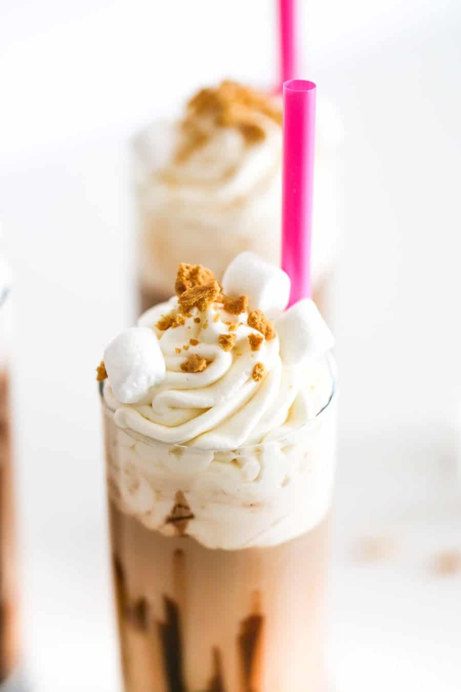 S'mores Cold Brew Coffee Floats // Salty Canary