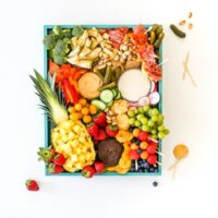 Ultimate Summer Fruit and Veggie Party Platter on a Budget, Fruit Plate, Veggie Plate, Meat and Cheese Tray, Pool Party, Healthy Party Snacks, Salty Canary