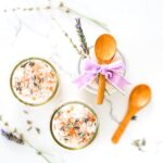 DIY Lavender Milk Bath Salts, Relaxing, Self Care, Hostess Gift, Spa Day, Bathtub, Salty Canary