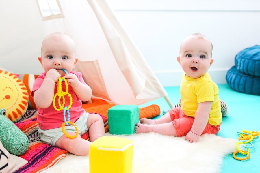How to Create a Safe Play Space for Baby // Salty Canary