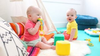 How to Create a Safe Play Space for Baby, Salty Canary, Baby Jail, Playroom for Babies and Twins, 6 7 8 Months Old, Safe Play Space in Living Room