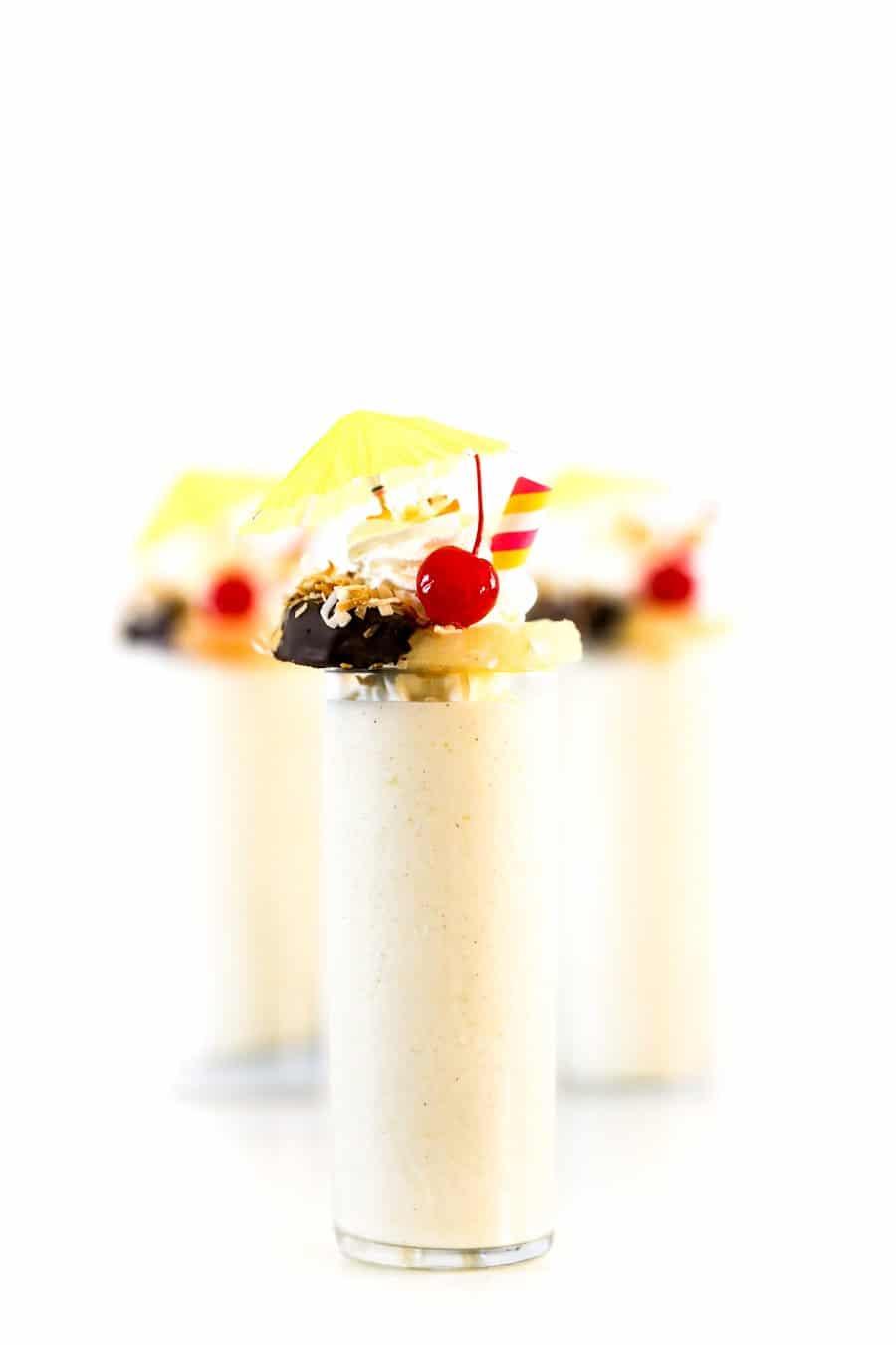 Pina Colada Milkshakes // Salty Canary5