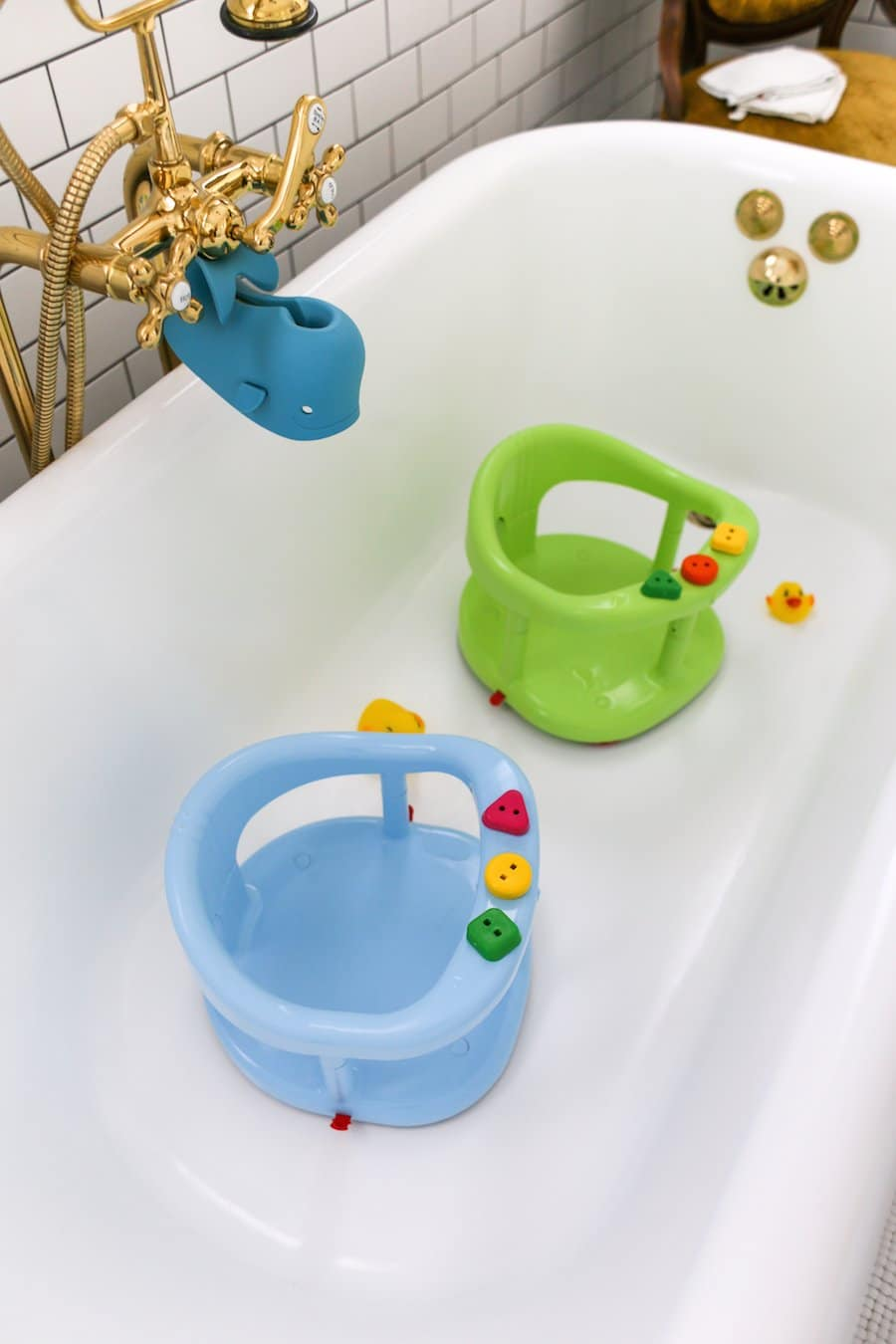 My Twins' Bathtime Routine// Salty Canary