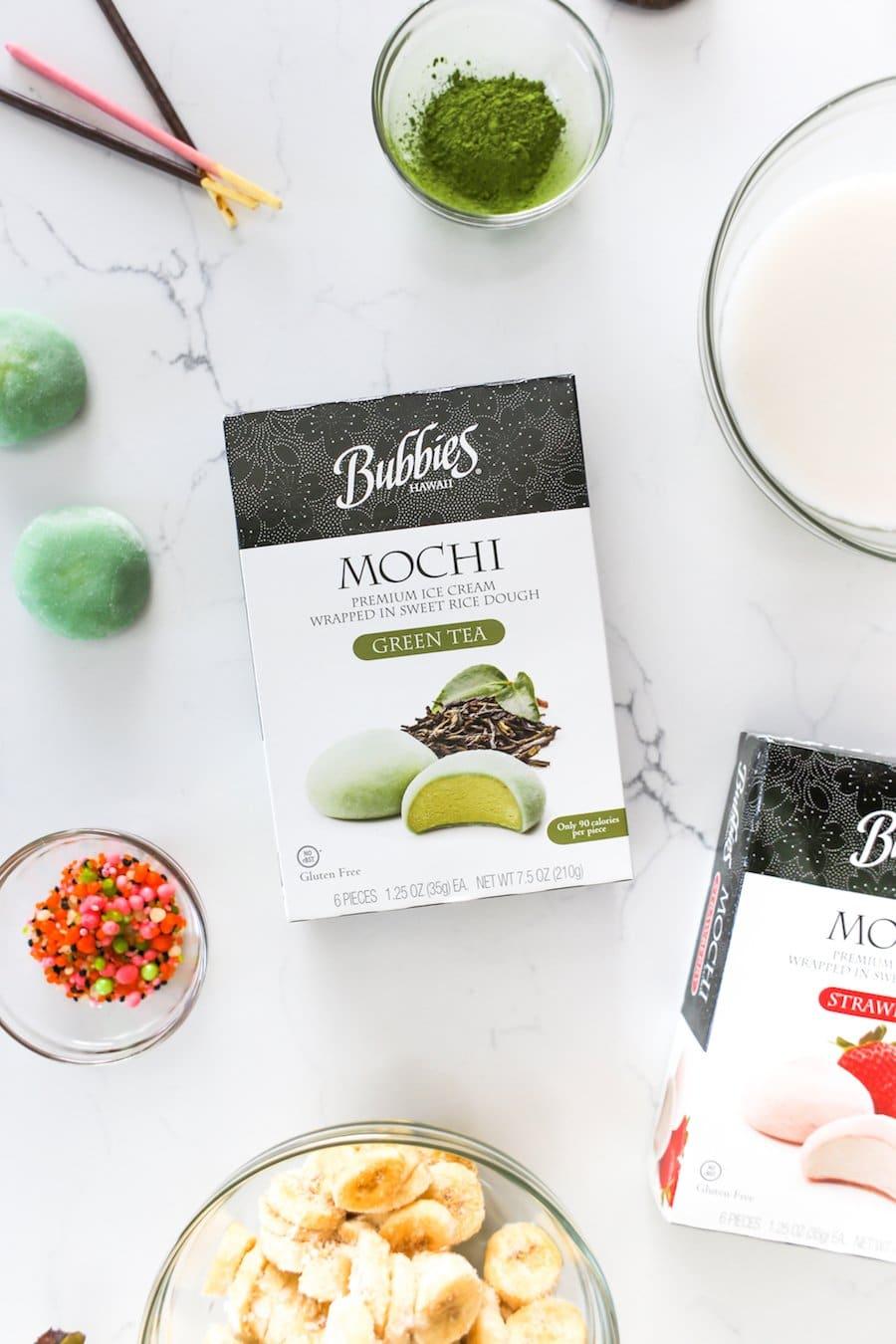 Matcha Mochi Milkshake // Salty Canary