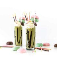 Matcha Mochi Milkshake, Over-the-Top Freakshake, Dessert Recipe, Green Tea, Salty Canary