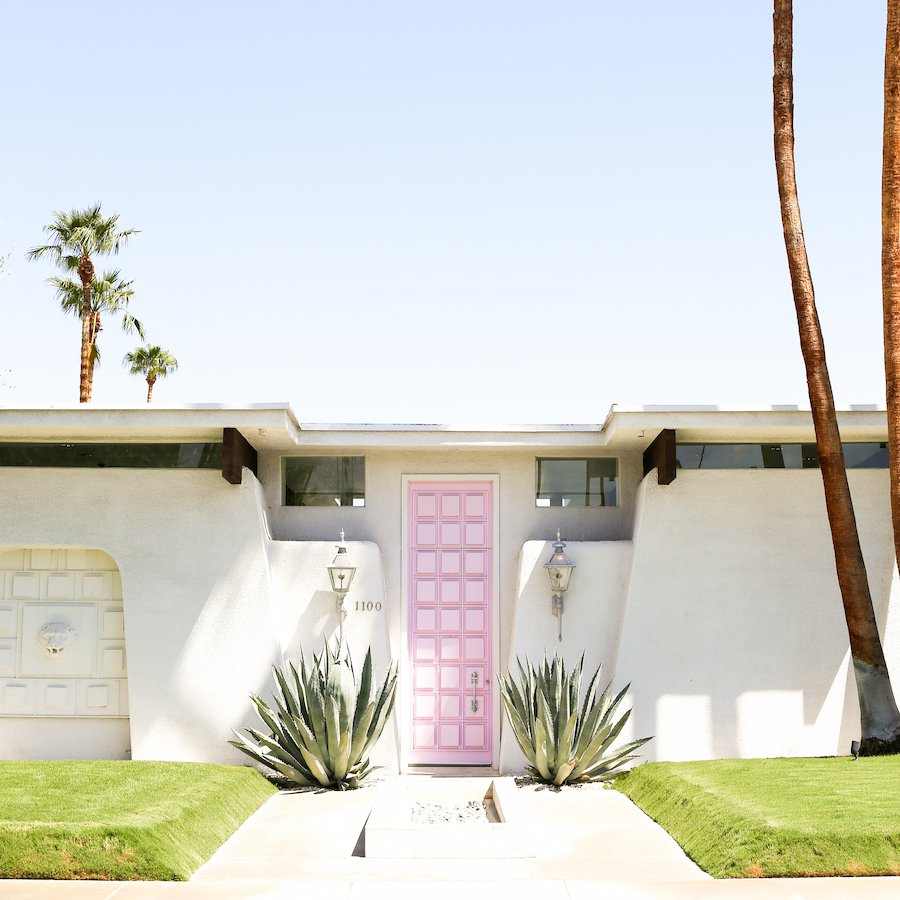 Most Insta-Worthy Spots in Palm Springs, Best Places for Instagram Photos in Palm Springs, That Pink Door, Door Tour in Palm Springs, Moorten Botanical Garden, The Parker Palm Springs, Korakia Pensione, The Saguaro, The Ace Hotel, Salvation Mountain, Joshua Tree, The Integratron, Best Places to Take Pictures in Palm Springs, Most Instagrammable Places in Palm Springs