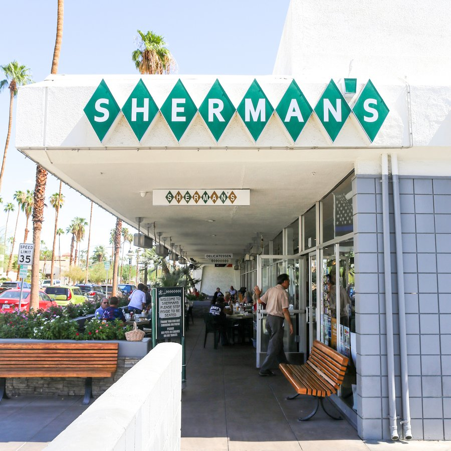 Sherman's Deli & Bakery in Palm Springs