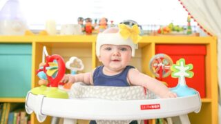 My Baby's Plagiocephaly and Helmet Before and After // Salty Canary