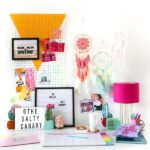 Budget Home Office Desk Makeover // Salty Canary