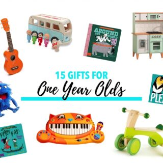 15 Gifts For One Year Olds