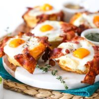 Bacon, Sausage & Egg Biscuit Cups