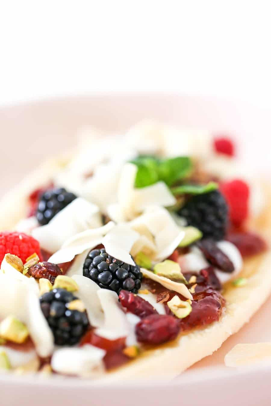 Healthy Banana Split for Breakfast or Dessert // Salty Canary
