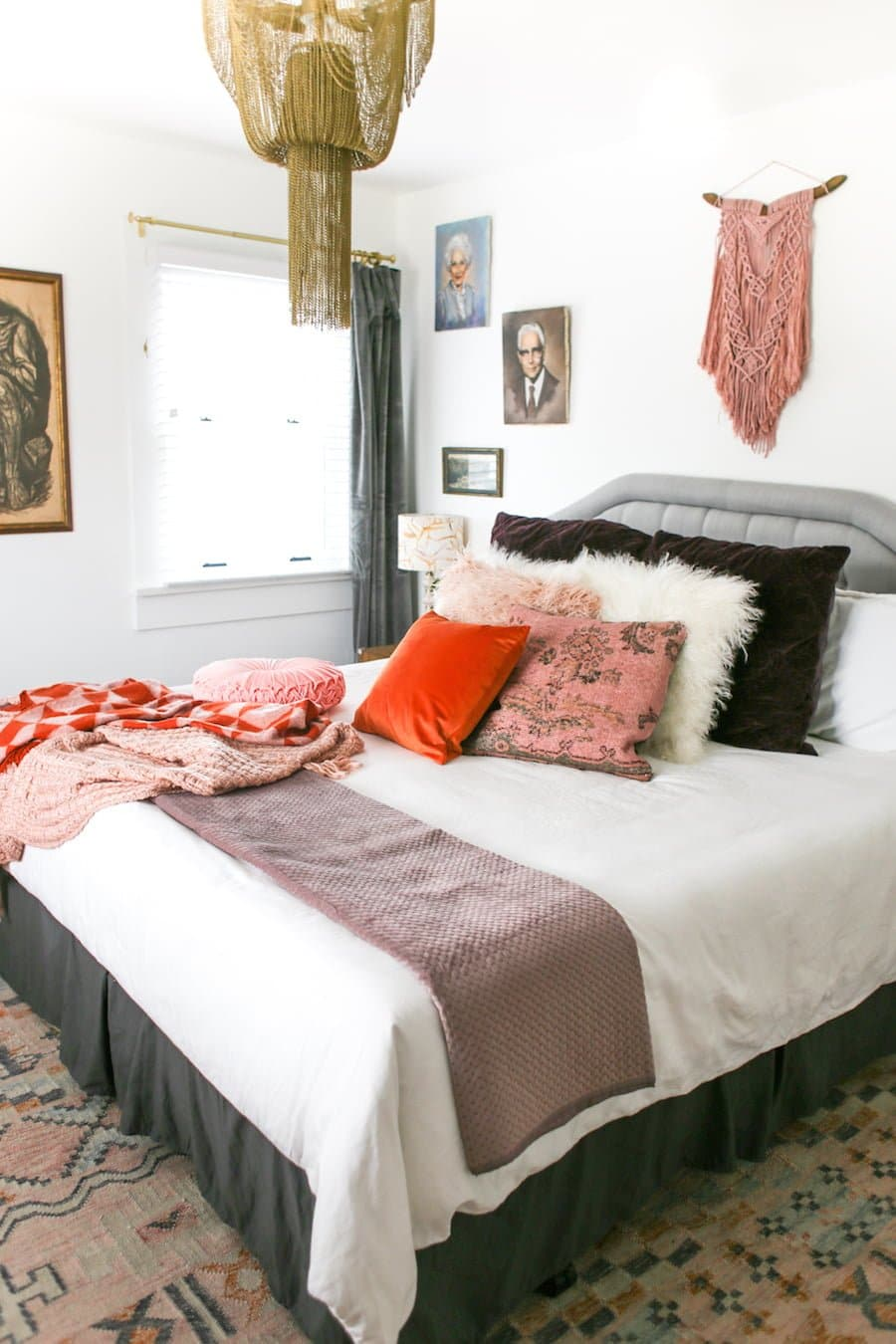How to Make Your Guest Room Feel Cozy // Salty Canary