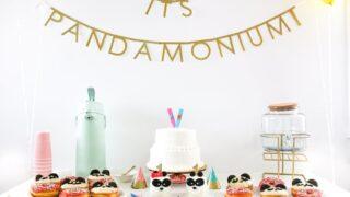 It's Pandamonium Panda Twin Birthday Party