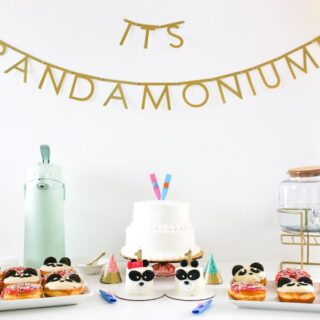 It's Pandamonium Panda Twin Birthday Party