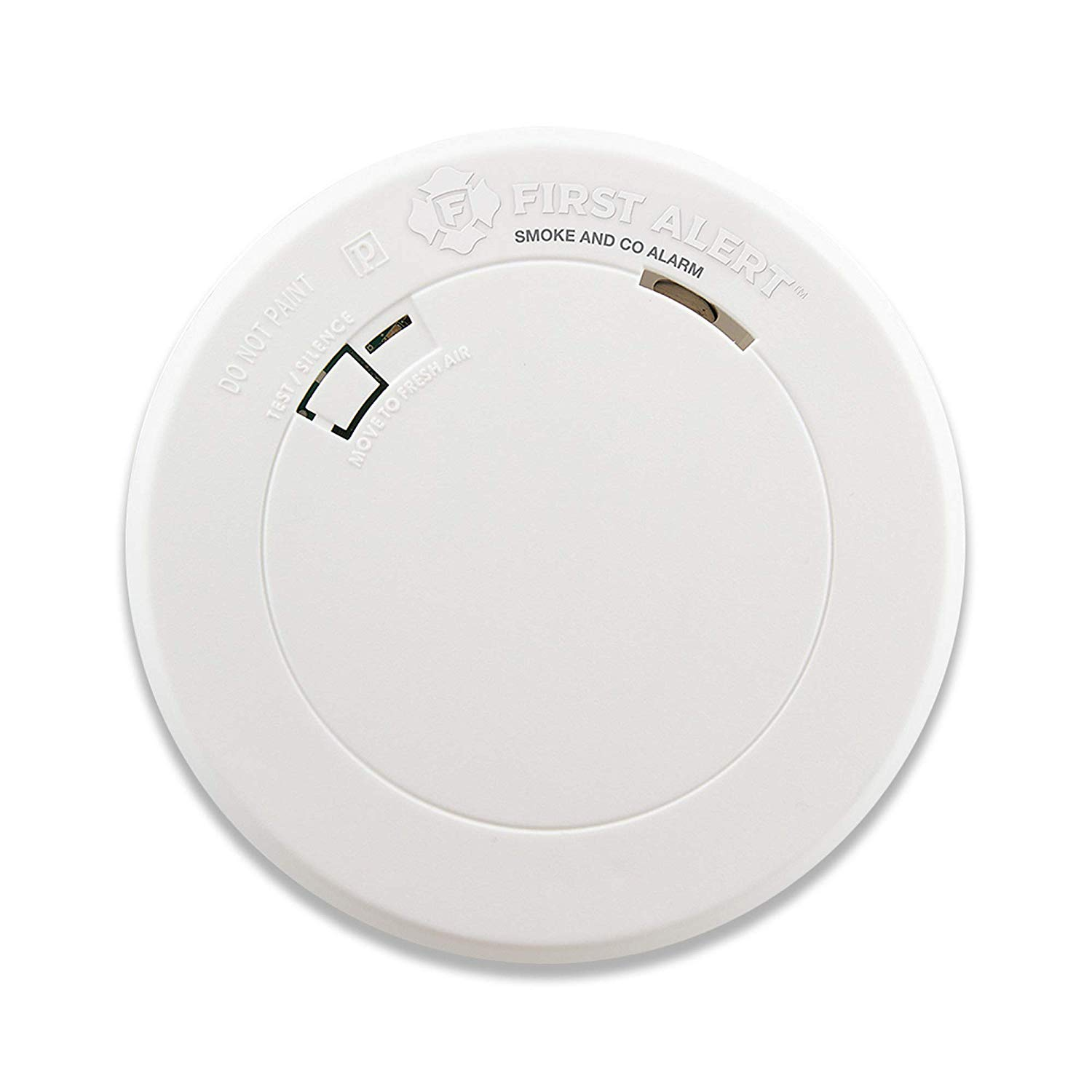 First Alert Smoke Detector and Carbon Monoxide Detector Alarm with Built-In 10-Year Battery, BRK ...