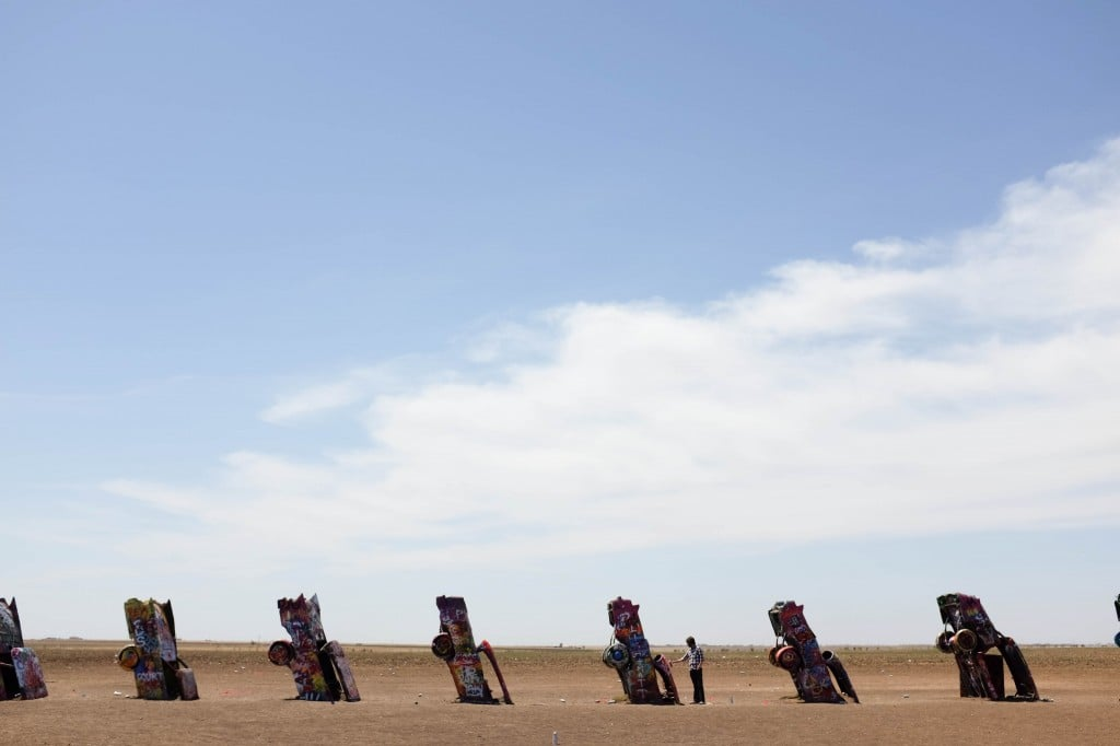 Route 66 Road Trip, Amarillo's Cadillac Ranch // Salty Canary
