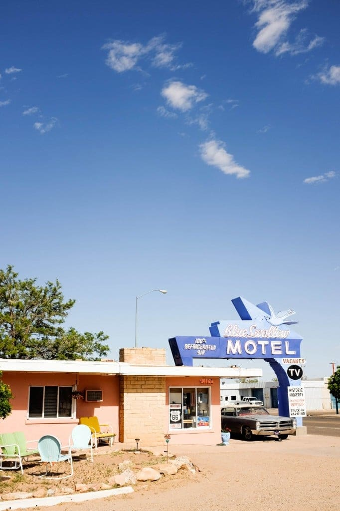 Route 66 Road Trip, Blue Swallow, Tucumcari, New Mexico // Salty Canary