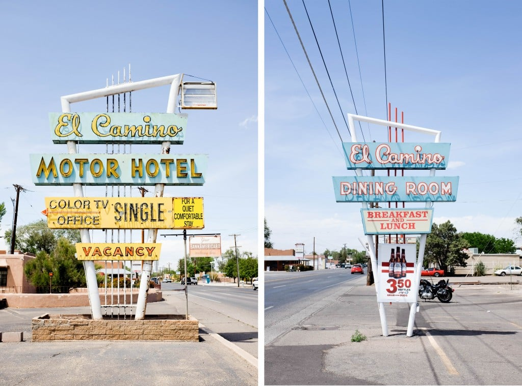 Route 66 Road Trip, Santa Fe to Albuquerque, New Mexico // Salty Canary