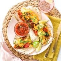 Freezer-Friendly Breakfast Tacos