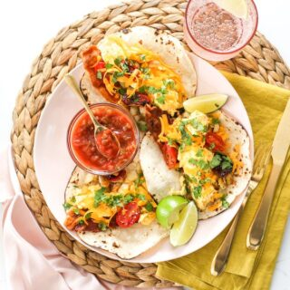 Freezer Friendly Breakfast Tacos