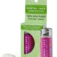 Silk Dental Floss with Natural Mint Flavoring