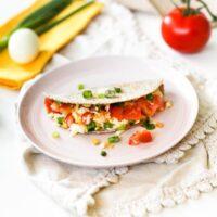 Freezer-Friendly Hard Boiled Egg Quesadillas